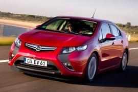 L'avant de l'Opel Ampera
