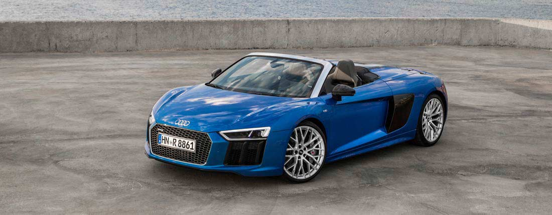 acheter une audi r8 spyder d 39 occasion sur. Black Bedroom Furniture Sets. Home Design Ideas