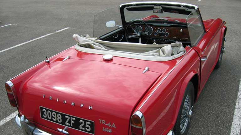 Triumph Tr4 Information Prix Alternatives Autoscout24