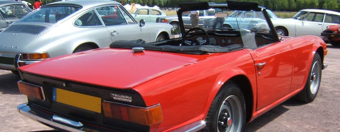 Triumph Tr6 Information Prix Alternatives Autoscout24