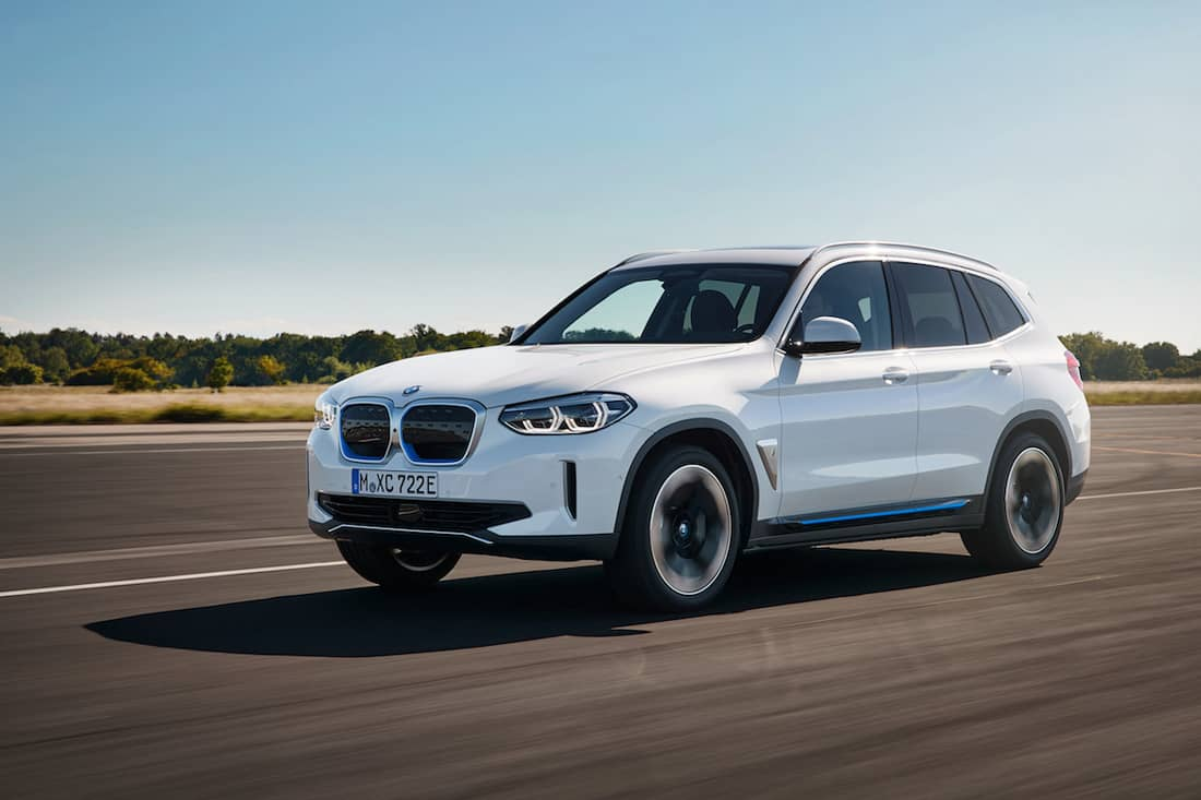 BMW iX3 official 2020